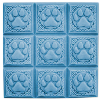 Tray-Paw Print Soap Mold