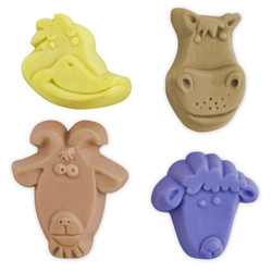 Kids Critters 5 Soap Mold