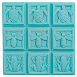 Tray-Art Deco Fauna Soap Mold
