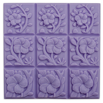 Tray-Tropical Vines Soap Mold