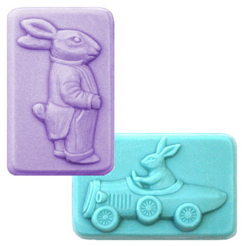 2 Gents Soap Mold