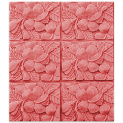 Tray-Hibiscus Soap Mold