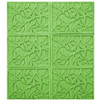 Tray Bamboo Leaves Soap Mold