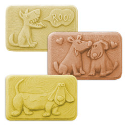 Good Dogs 2 Soap Mold - Only $5.93 each - SKU # SM-238
