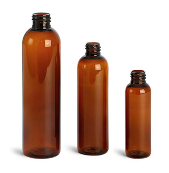 Buy Amber Cosmo Round Bullet Bottles Bulk Apothecary