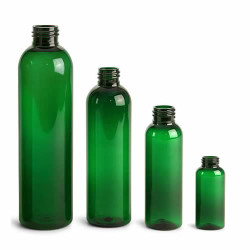 Buy Plastic Green Bullet Bottles