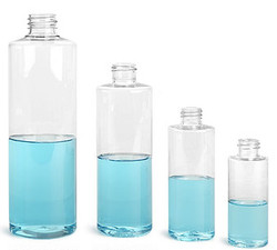 Buy Clear Plastic Cylinder Bottles