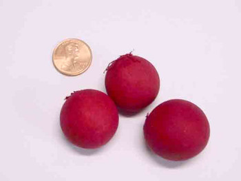 Ball Fruit - Bleached and Deodorized - Red