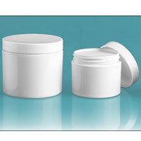 White Double Wall Jars