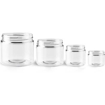 Buy Clear Plastic Jars Buy Wholesale from Bulk Apothecary