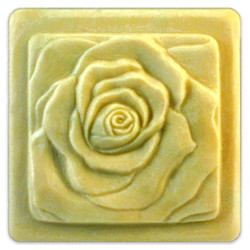 Bas Relief Rose Soap Mold