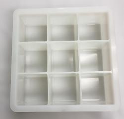 Silicone 9 Cube soap mold