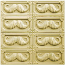 Tray Mustache Soap Mold