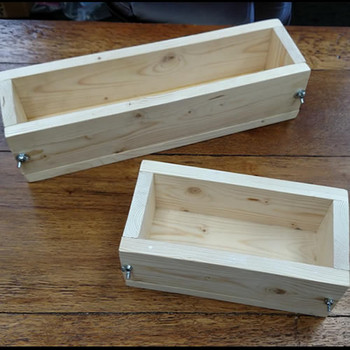 Wood Soap Loaf Molds | Bulk Apothecary
