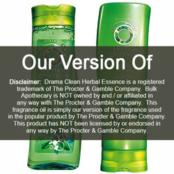 Drama Clean Herbal Essence (our version of) Fragrance Oil