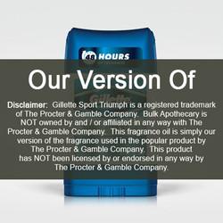 Gillette Sport Triumph (our version of) Fragrance Oil