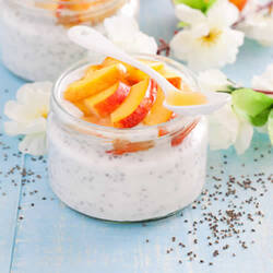 Pure Coconut Milk & Peaches Flavor Sizes