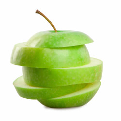Pure Green Apple Flavor Sizes