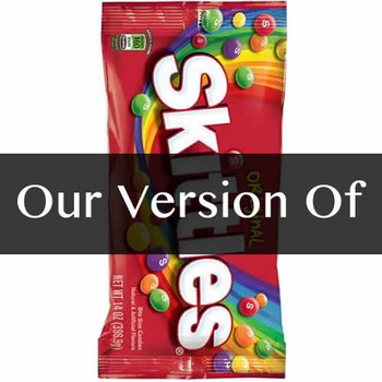 Pure Skittles Flavor Sizes