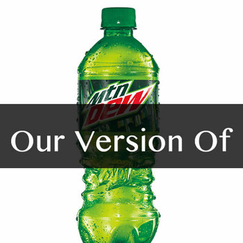 Pure Mountain Dew Flavor Sizes