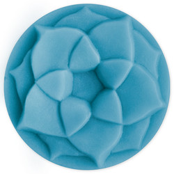 Lotus Blossom Small Round Soap Mold