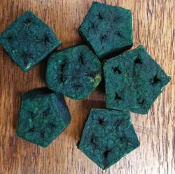 Mahogany Stars - Green