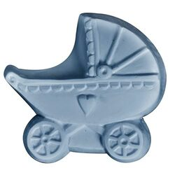 Baby Carriage Soap Mold