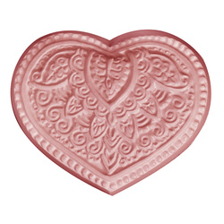 Henna Heart Soap Mold