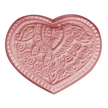 Henna Heart Soap Mold