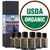 Organic Essential Oils Set Certified