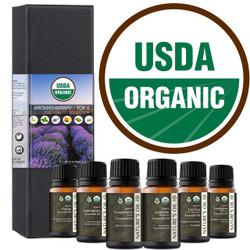 Organic Essential Oils Set Certified