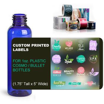 Digital Labels for 1oz. bullet bottles