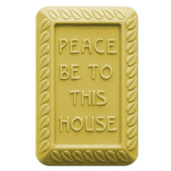 Peace Be To This House Soap Mold