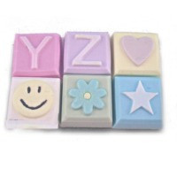 Alphabet Block Soap Mold - Y to Z