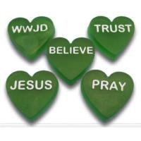 Christian Hearts Soap Mold