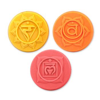Chakras 2 Soap Mold