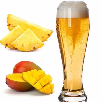 Pure Mango Pineapple Flavor Sizes