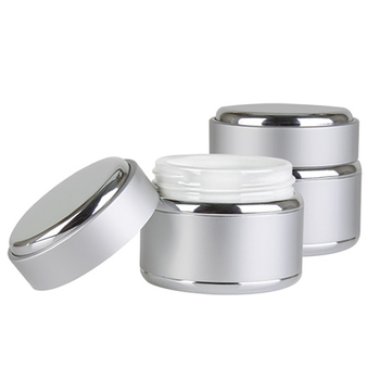 Kosma Silver Jars with Caps