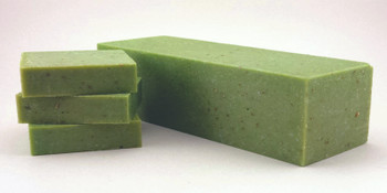 Jasmine Lime Scrub Soap Loaf