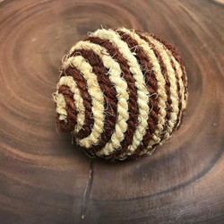 8cm Coco Two Tone Rope Ball