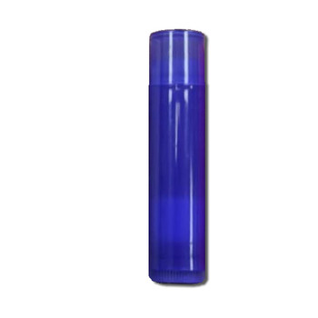 Purple Stick Filled and Unlabeled Lip Balm Tube