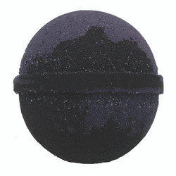 Large 5 oz Black Amethyst Bath Bomb
