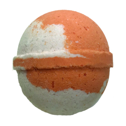 Large 5 oz Orange Coconut Bath Bomb