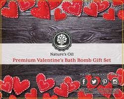 Premium 8ct. Valentine's Bath Bomb Gift Set