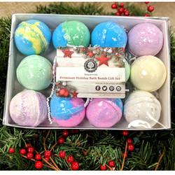 Top 12 assorted bath bomb set