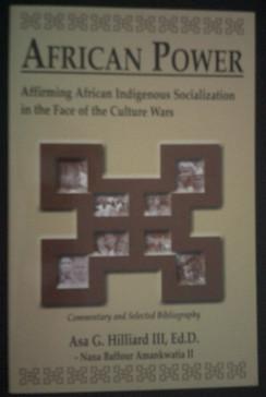 African Power:  Affirming African Indigenous Socialization - Asa G. Williard II