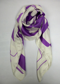 Purple Cubes Scarf