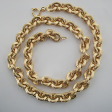 Lined Linx Necklace
