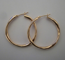 Small Rose Gold Mimi Hoops