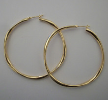 Gold Mimi Hoops